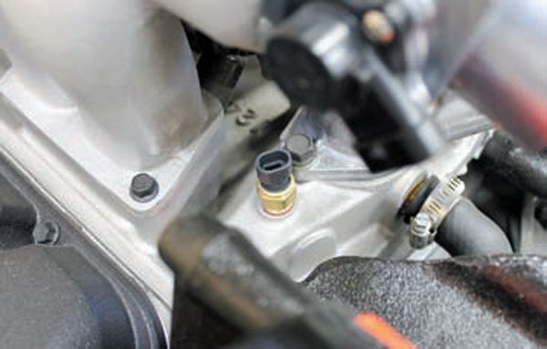 upgrading to gen iii ls series pcm sensors and inputs guide ect sensors were commonly located in the front intake manifold coolant passage near the thermostat housing