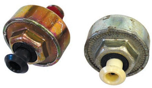 The single- wire, resonant-type knock sensors are used with TPI, LT1, and LS-series engines. Because the knock sensor is designed for the application in which it is used, they are not all interchangeable.
