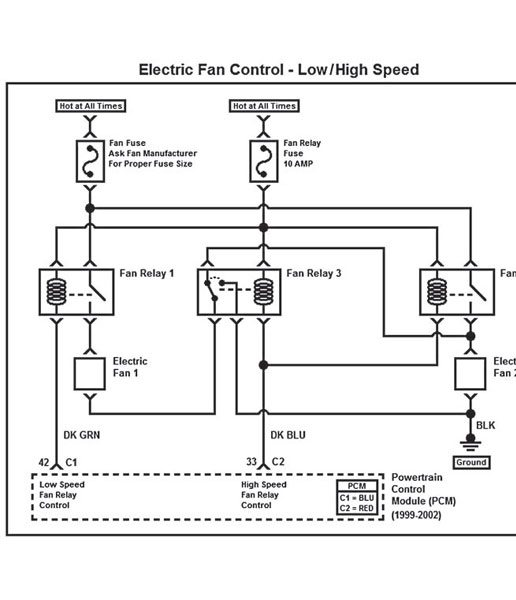 Painless Wiring Electric Fan Diagram : Upgrading to gen iii ls series pcm electric fan guide