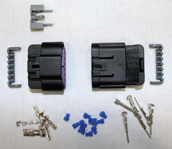 Delphi manufactures most of the connectors found in GM wire harnesses. In most cases, General Motors uses all available secondary locks during connector assembly. Be cautious of aftermarket harness manufacturers who exclude secondary locks for the sake of saving a few bucks.