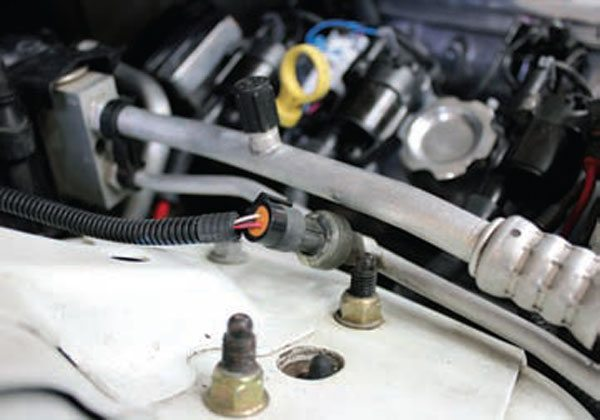 upgrading to gen iii ls series pcm air conditioning guide this sensor is in a 1997 trans am in this vehicle the lt1 pcm