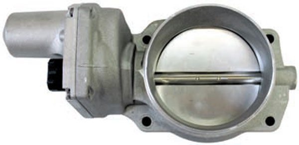 Electronic throttle bodies, such as this LS2 throttle body, have no IAC passage. Rather than use a redundant motor to add or remove air during idle, the TAC system uses its IAC function to rapidly open and close the throttle blade angle for a smooth idle. Consider how much more quickly an electronic throttle body can adjust idle airflow for engines fitted with an aggressive camshaft.