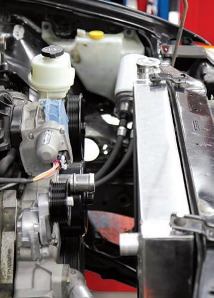 ls swaps accessory drives and cooling system guide engine to radiator clearance is a primary consideration when installing an ls engine into