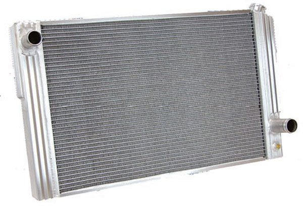 Aluminum radiators come in a million shapes and sizes. Choosing which one is right for your swap can be frustrating. The key is not necessarily to spend the most money. Budget-priced aluminum radiators such as those from Griffin, Summit Racing, and Howe are often just as good as more expensive units. (Photo Courtesy Summit Racing)
