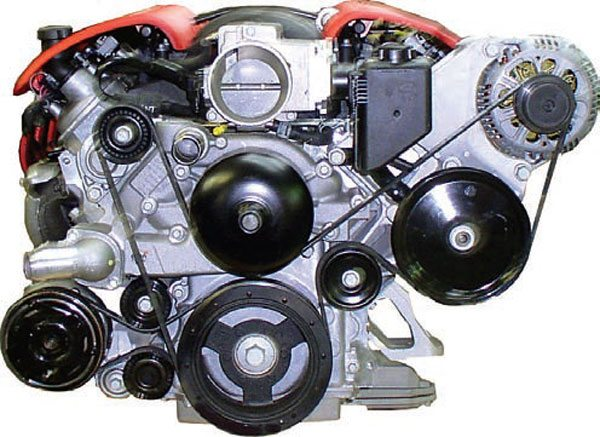 ls swaps accessory drives and cooling system guide the 1997 2004 corvette has a dual belt drive the alternator is raised