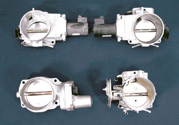 ls swaps engine management systems guide these throttle bodies are 1997 2004 corvette top left vortec trucks