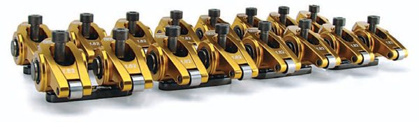 Comp Cams' Ultra Gold rockers are like jewelry for your engine. It's a shame you have to cover them up with valve covers. They are the perfect example of a pedestal-mount aluminum rocker. The roller tip alone can add 5 to 15 hp due to decreased friction, and prevent excessive valveguide wear with higher-lift cams.