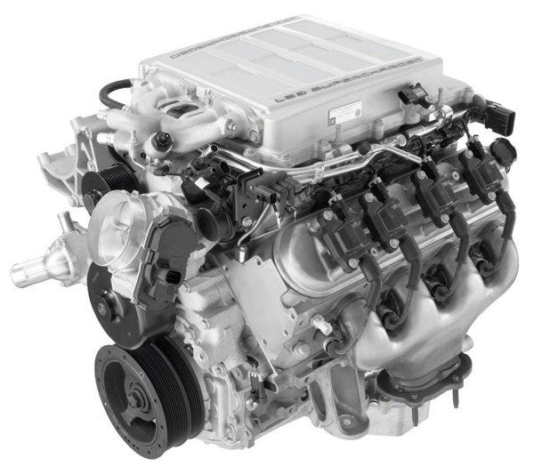 Corvette ZR1 LS9 6.2-liter. (Photo courtesy General Motors)