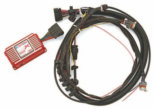 If you install a carburetor on an LS engine, you need to install this external module to help the engine run with ease. Some additional wiring is required and a good tune on your carb is also helpful. (Photo C ourtesy General Motors)