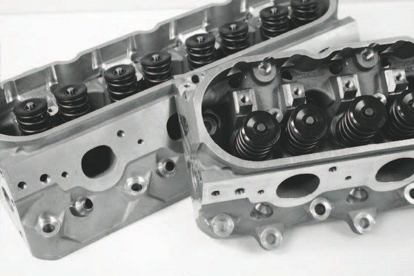 Excellent airflow characteristics of the basic LS cylinder head design greatly exploit the benefits of forced induction, as air is easily and quickly moved through the engine. Because of this, a higher-capacity supercharger or larger turbo is often used, when compared to older, previousgeneration Chevy small-block designs, to fulfill the airflow capability of the free-flowing LS engine.