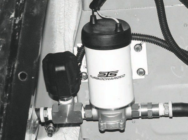 Here's a boost controller integrated with an STS turbo system. It is an digital controller, but other electronic controllers enable the driver to dial in the desired boost from a remote control. Manual boost controllers are adjustable, much like the valve settings on adjustable shock absorbers.