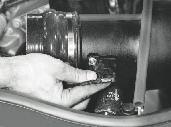 The custom intake systems of most centrifugal supercharger and turbocharger systems require swapping the stock mass airflow sensor into the intake tract. For the most accurate airflow readings, the sensor should be placed in a section of the intake that allows a straight flow path across the sensor element.