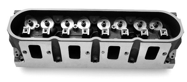 Right out of the box, the factory LS7 heads flow 360 cfm, making them an exceptional value for stroker small-block buildups. With some quality hand porting, these heads are capable of delivering up to 400 cfm of airflow. That's better than many bigblock heads on the market. (© GM Corp.)