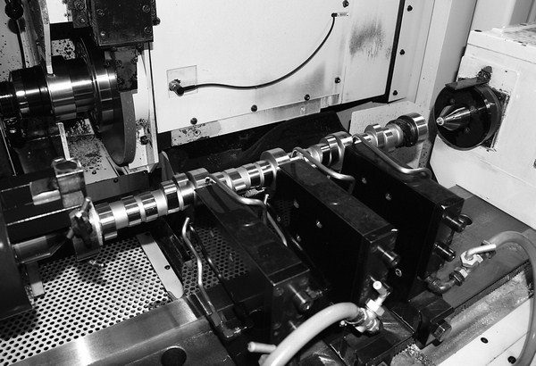 Camshaft grinding is an extremely precise process in which tolerances are held to thousandths of an inch. In order to endure higher valvespring pressures and steeper ramp acceleration rates, solid roller camshafts are usually ground from a durable billet core.