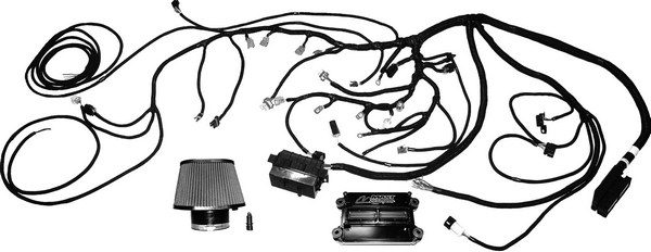 If you scored a Gen III/IV small-block to drop into your project car but don't have a computer, Mast Motorsports' M-90 PCM is the perfect solution. It offers all of the tuning power of a typical stand-alone EFI system, but it includes an idiot-proof wiring harness. After plugging all of the connectors onto the engine, all you have to do is hook up the power wire, ground wire, and fuel pump wire before firing up the motor.