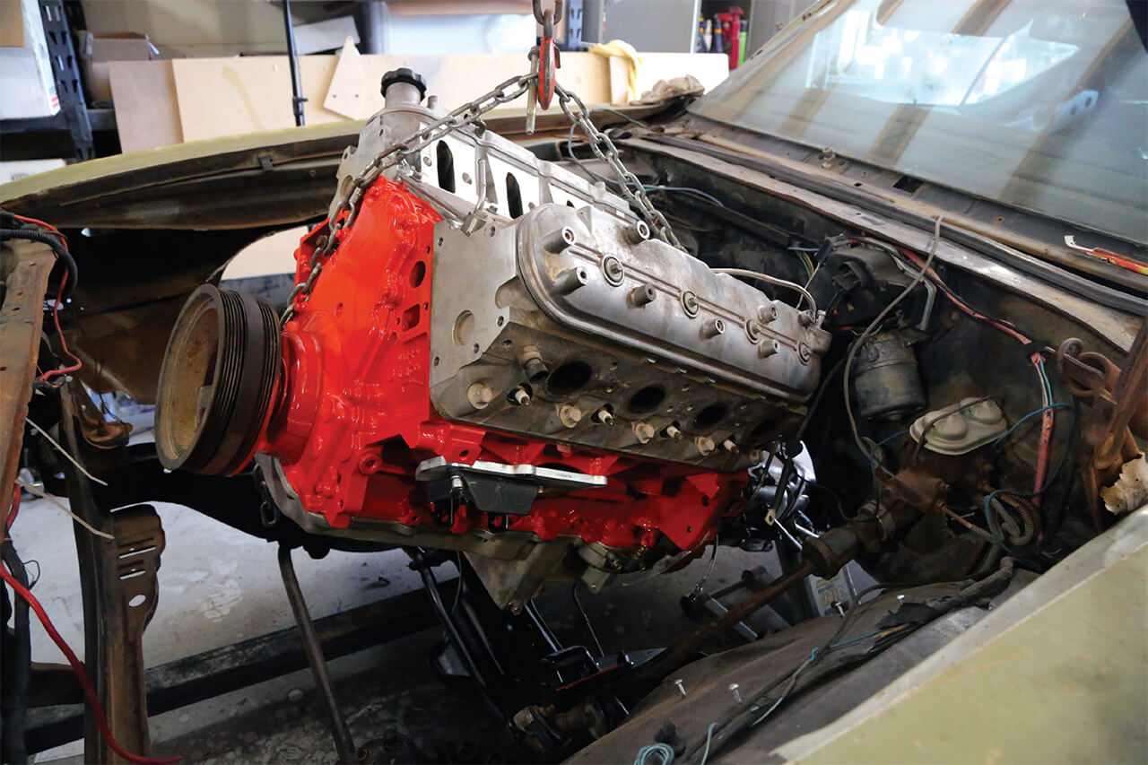Swapping LS's into Chevelles